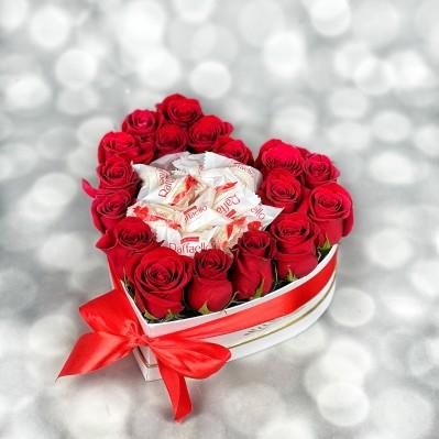Aranjament Trandafiri Love Story
