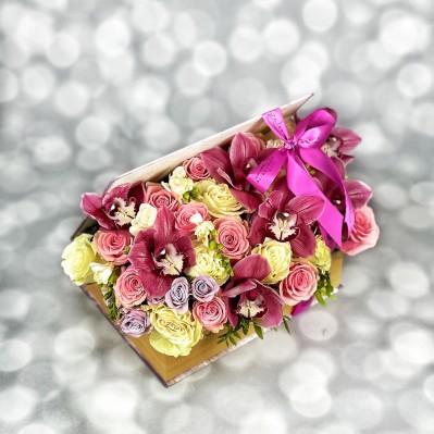Aranjament Orhidee Book Of Love