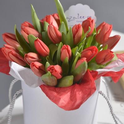Aranjament Tulip Love