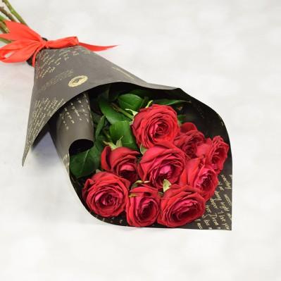 Buchet 9 trandafiri Mon Amour