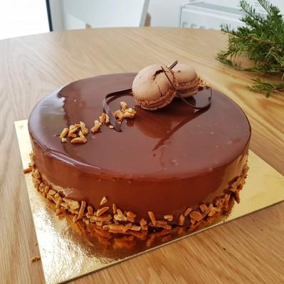 Tort Delice Chocolat Caramel
