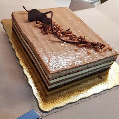Tort Le Trois Chocolats