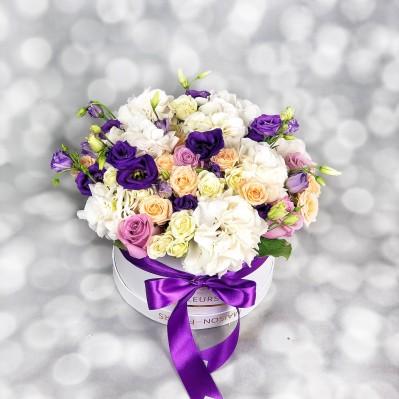 Aranjament Purple Touch Florarie Iasi