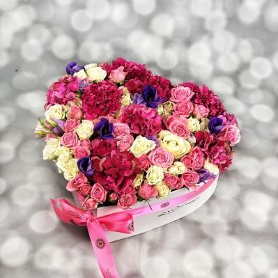 Aranjament Hortensie HeartBeats