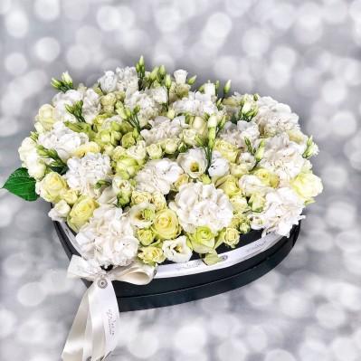 Aranjament Hortensie White Sensation