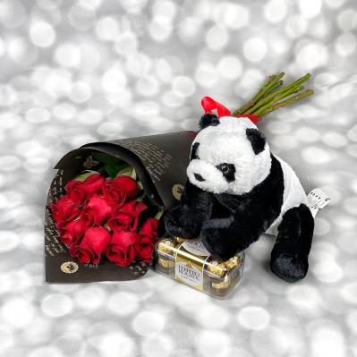 Pachet Panda Roses