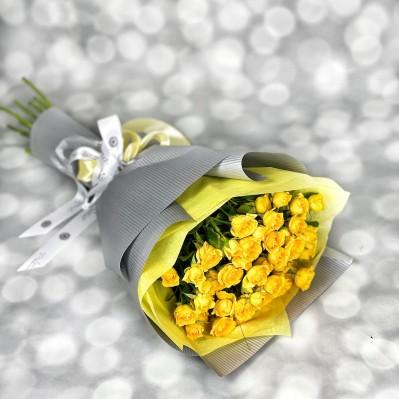 Buchet MIniroze Yellow